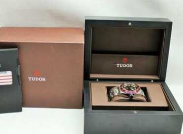 Tudor Steel Heritage Black Bay Red Bezel Ref. 79220R With Box & Papers