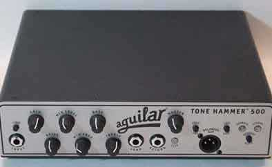 Aguilar Tone Hammer 500 Electric Bass Head Amplifier