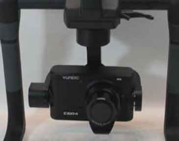 Yuneec CGO4 4K Digital Camera w/ ProAction Steadygrip Gimbal