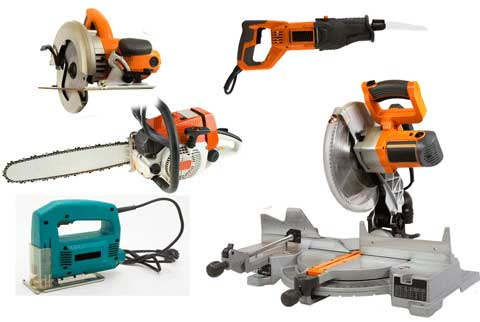 We sell cut off saws, table saws, pole saws, chain saws and more