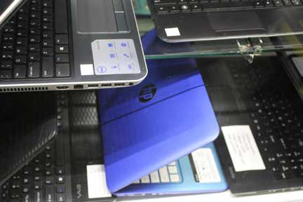 We buy and sell laptops and desktop computers