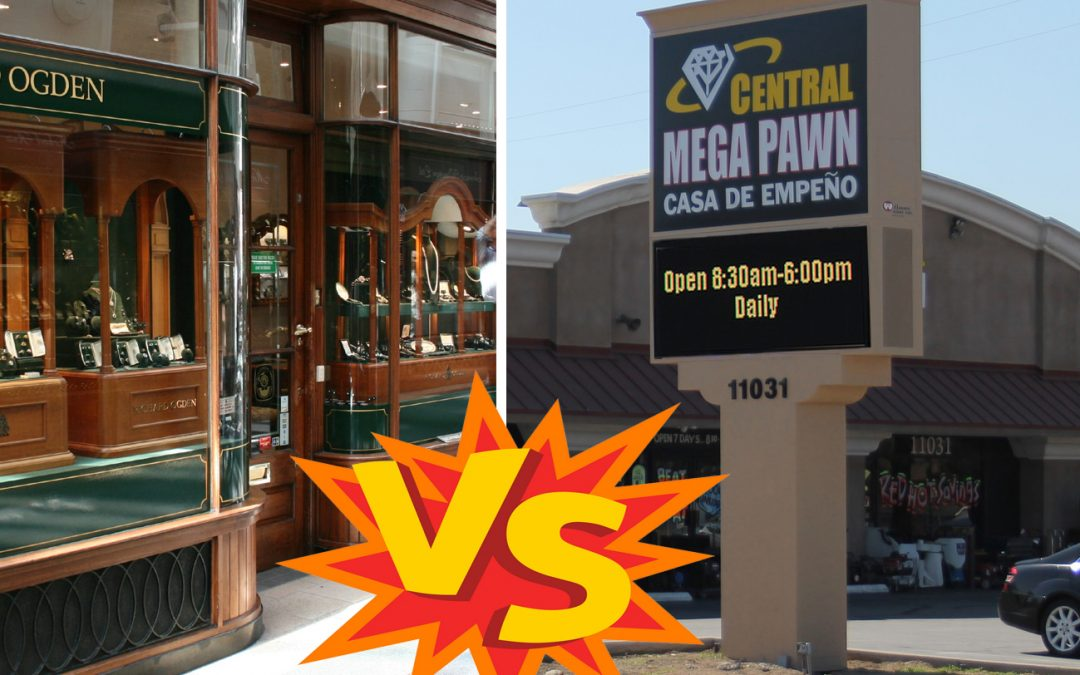 Jewelry Store vs Pawn Shop: Which is the Best for You?