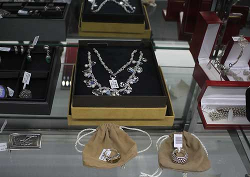 silver jewelry, Ontario - California