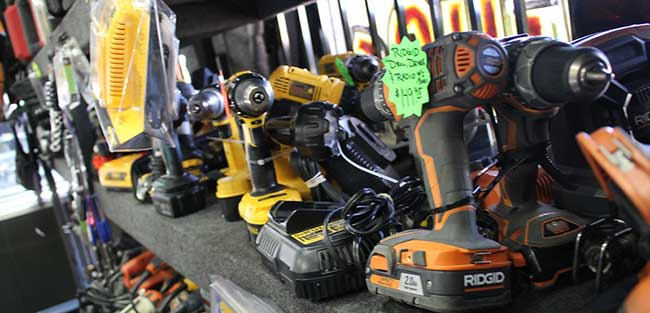 Buying Selling or Pawning Your Drills and Nailer's in Ontario California